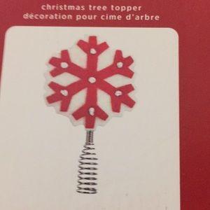 Hallmark Keepsake Miniature Snowflake Tree Topper
